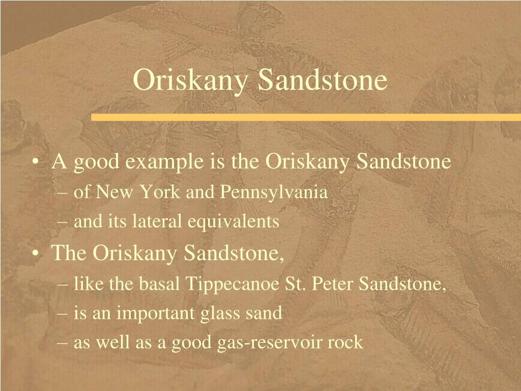 Oriskany Sandstone
