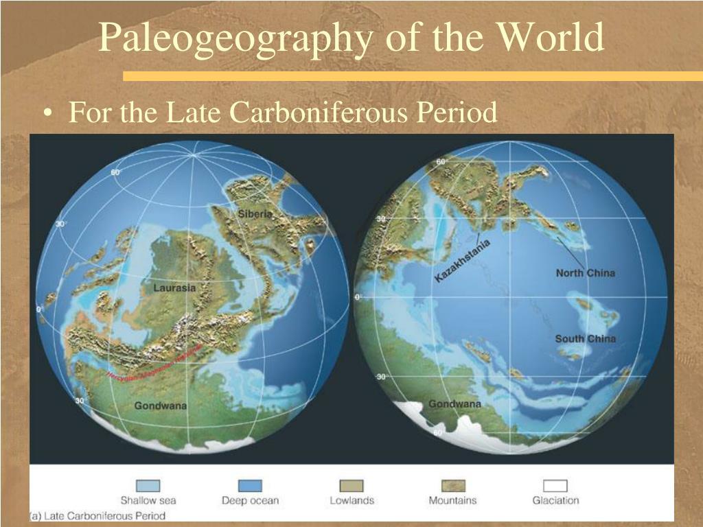 Paleogeography of the World