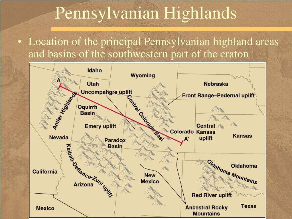 Pennsylvanian Highlands