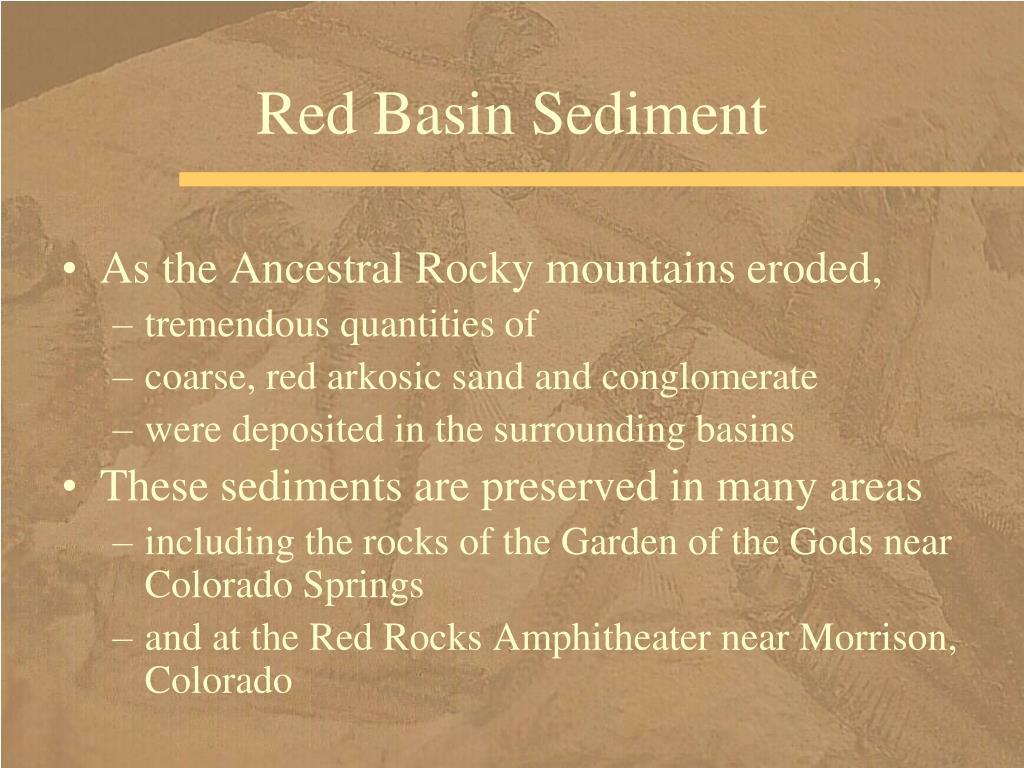 Red Basin Sediment