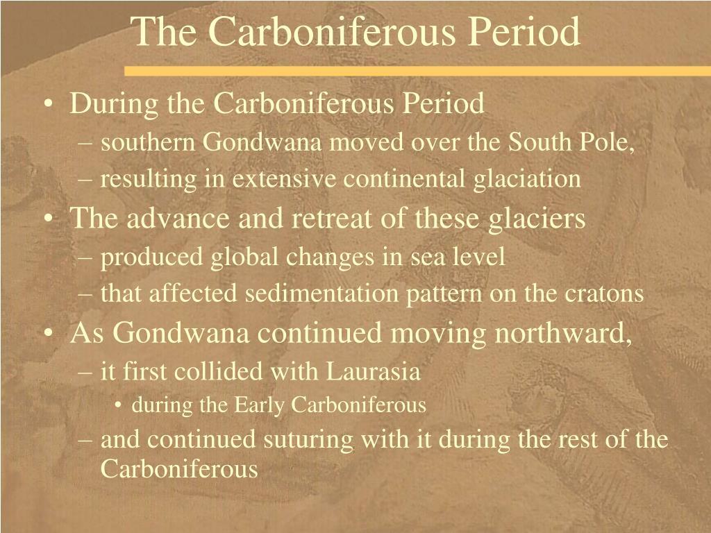 The Carboniferous Period