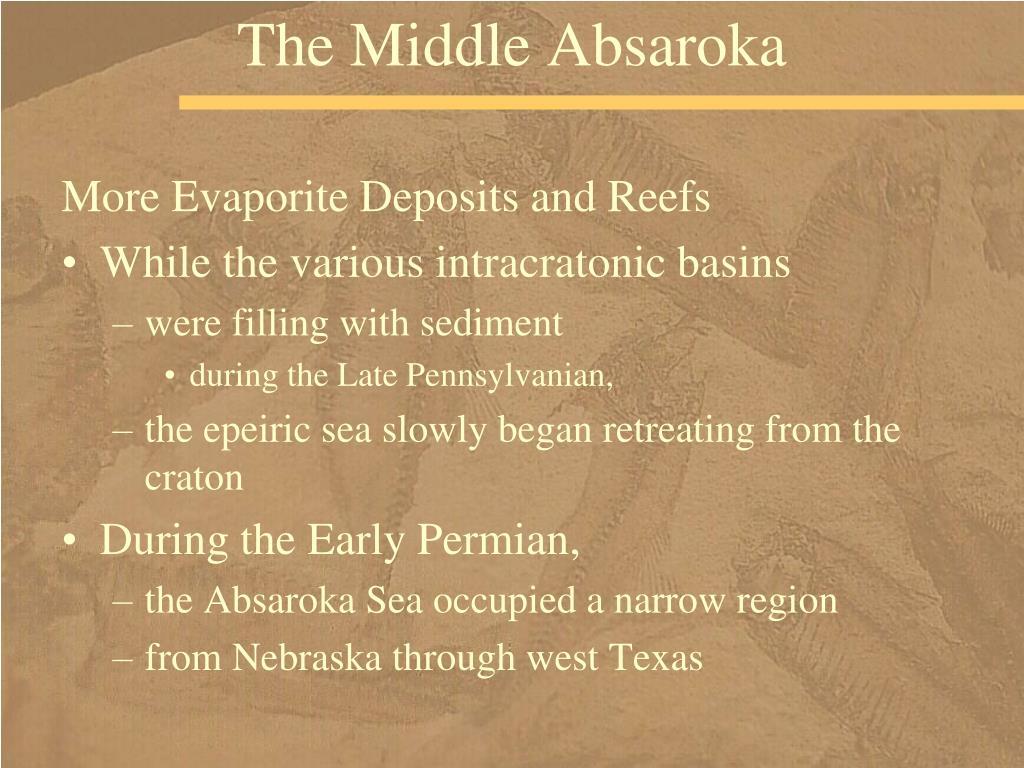 The Middle Absaroka