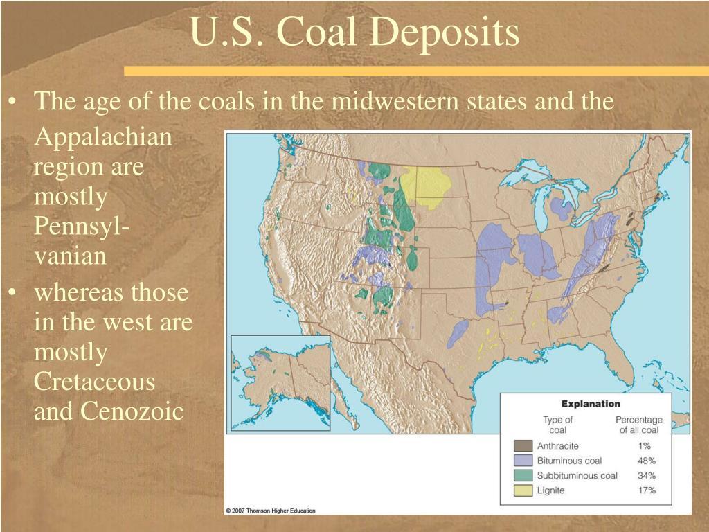 U.S. Coal Deposits