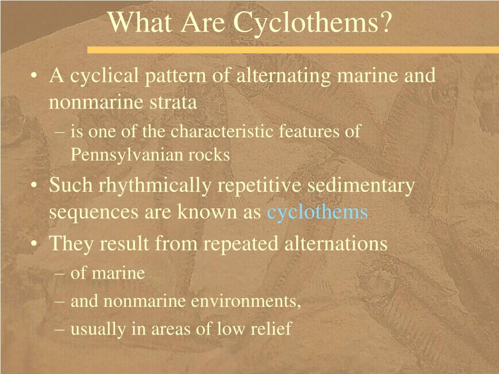 What Are Cyclothems?