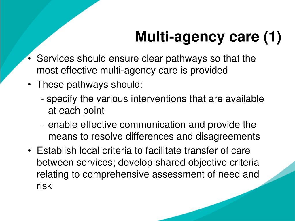 Multi-agency care (1)