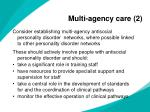 multi agency care 2