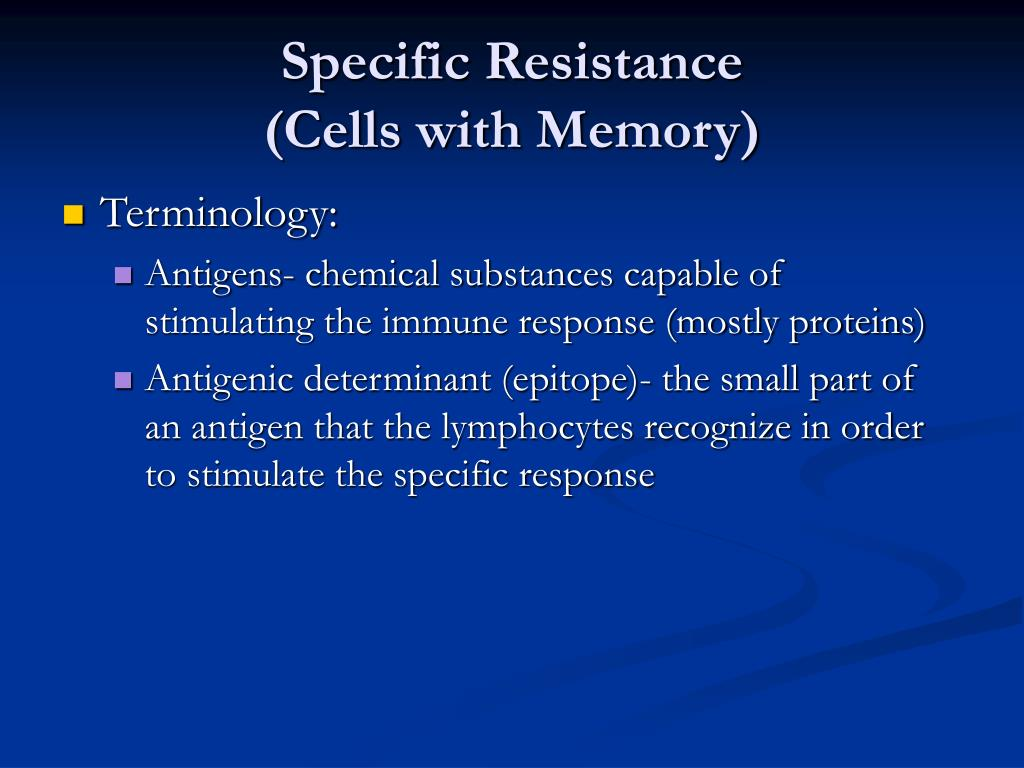 Specific Resistance