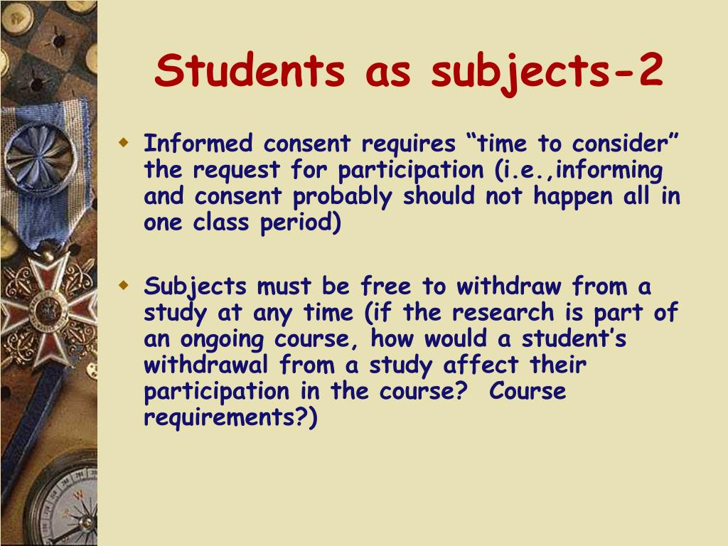 Students as subjects-2