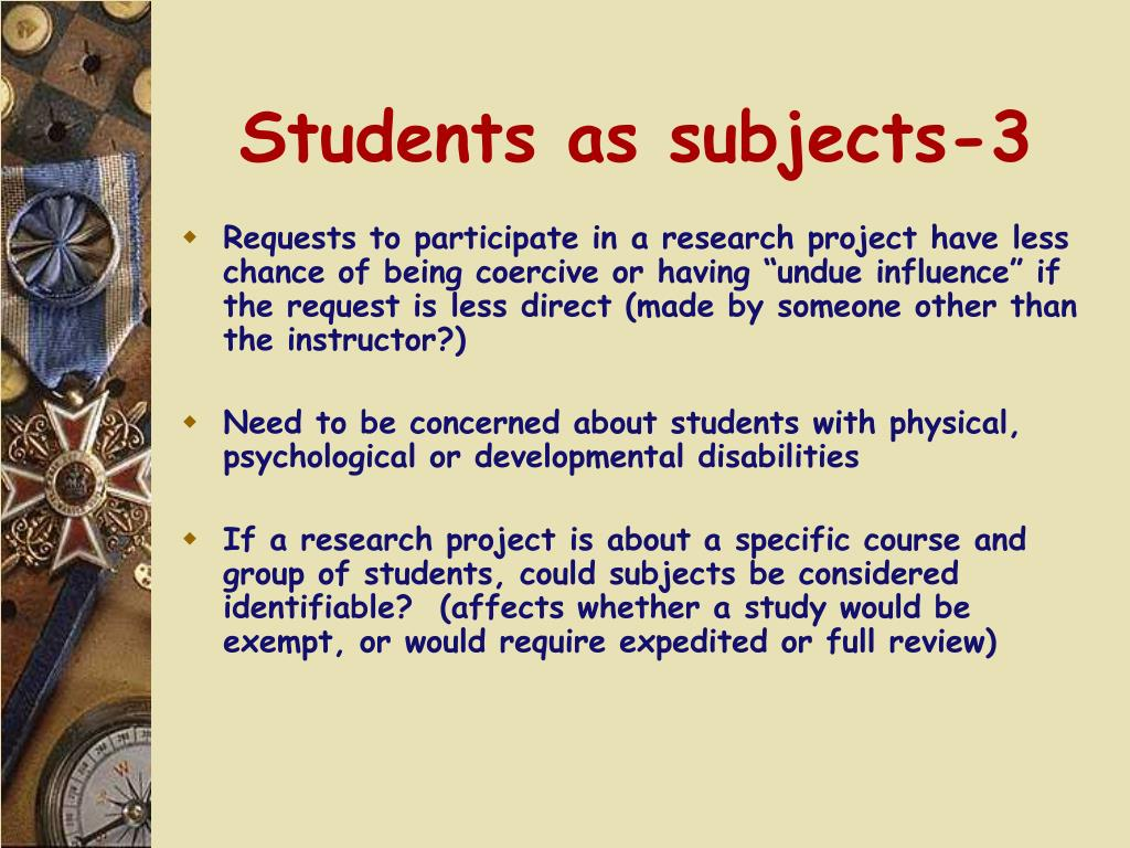 Students as subjects-3