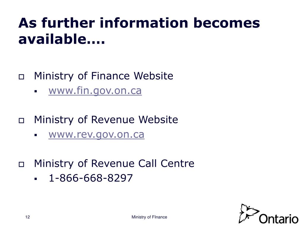 As further information becomes available….