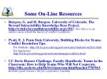 some on line resources