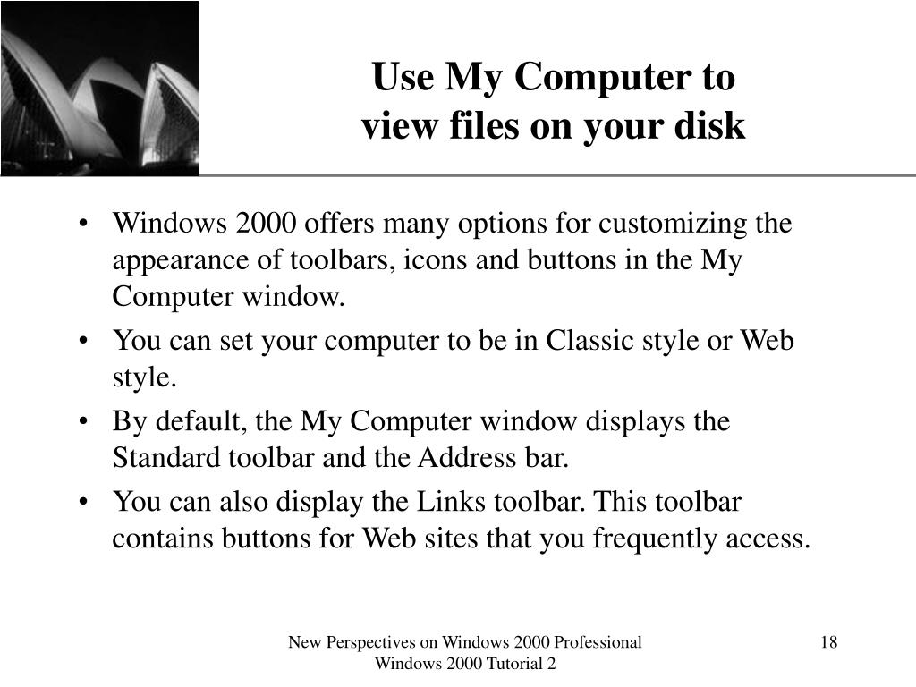 Use My Computer to