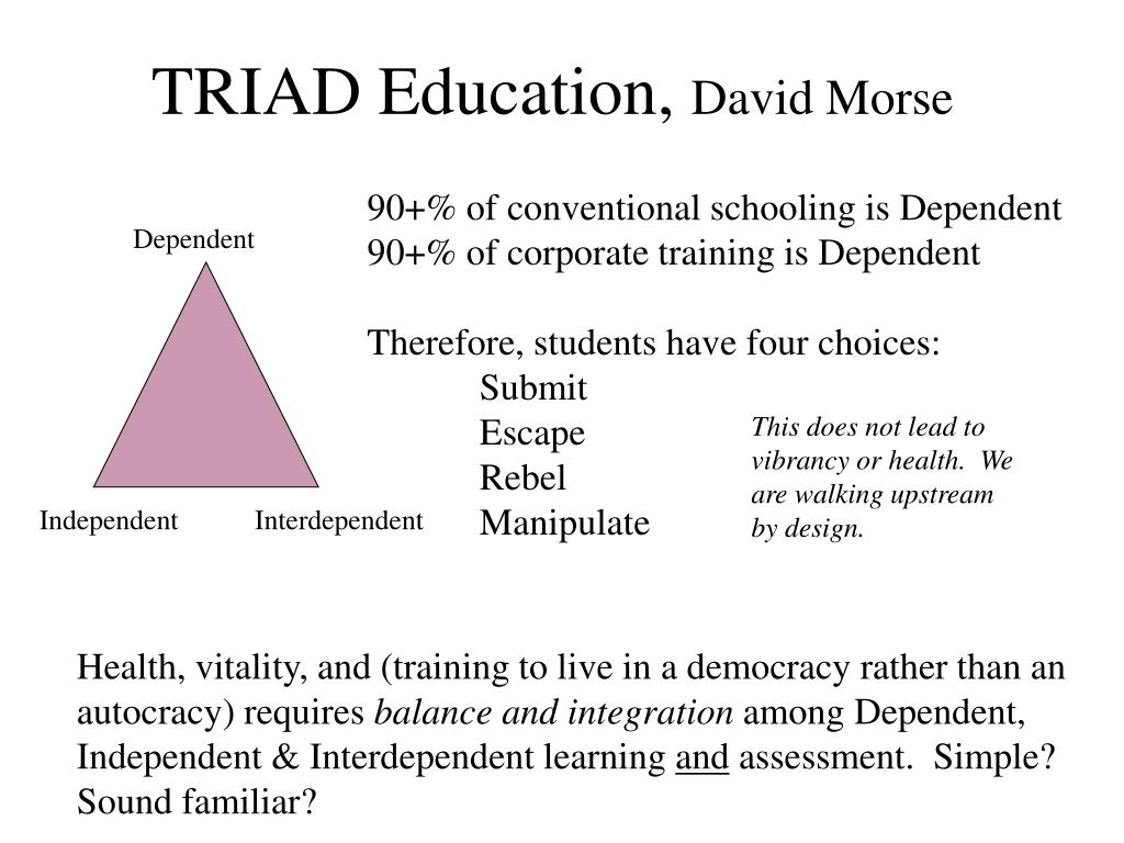 TRIAD Education,