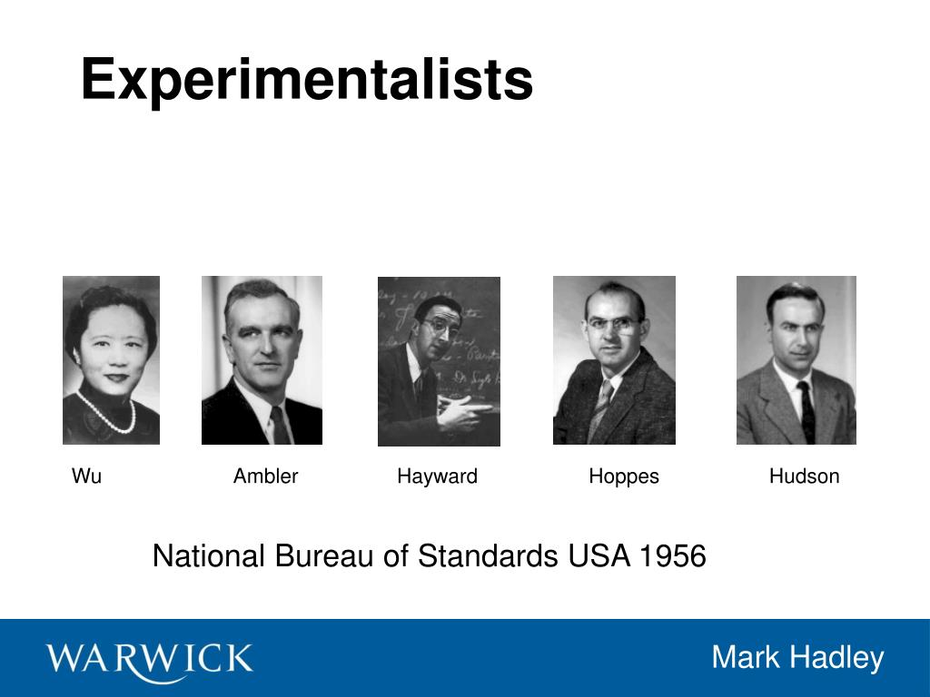 Experimentalists