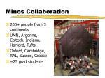 minos collaboration