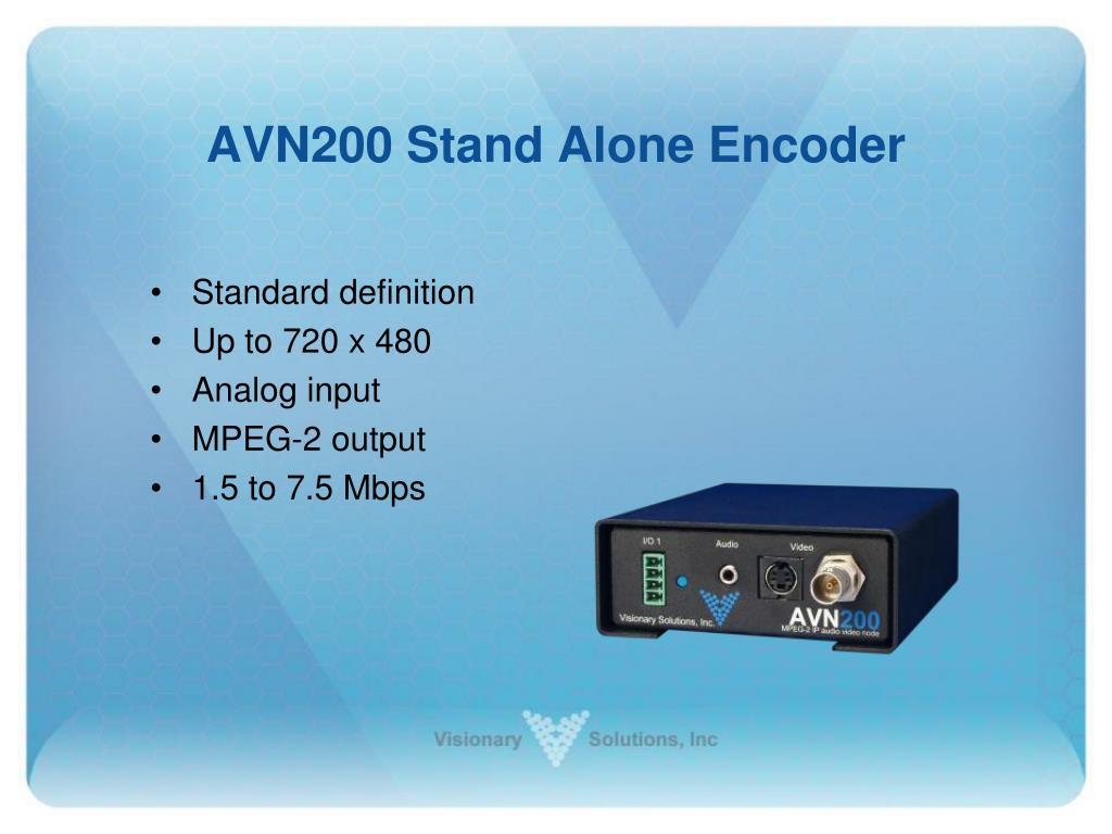 AVN200 Stand Alone Encoder