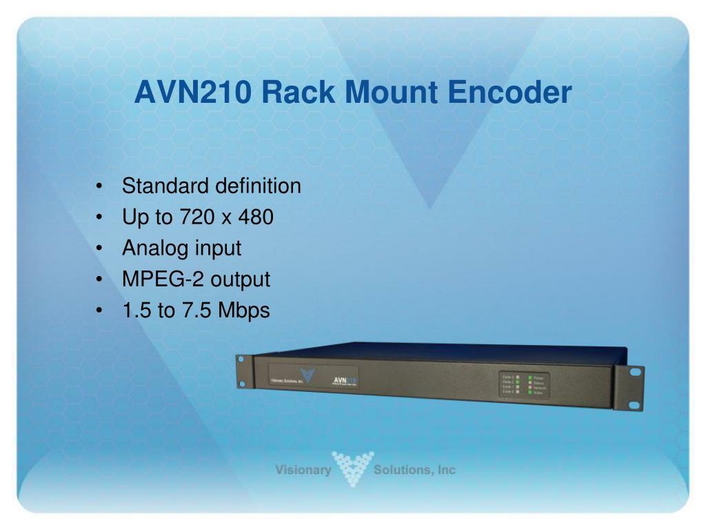 AVN210 Rack Mount Encoder