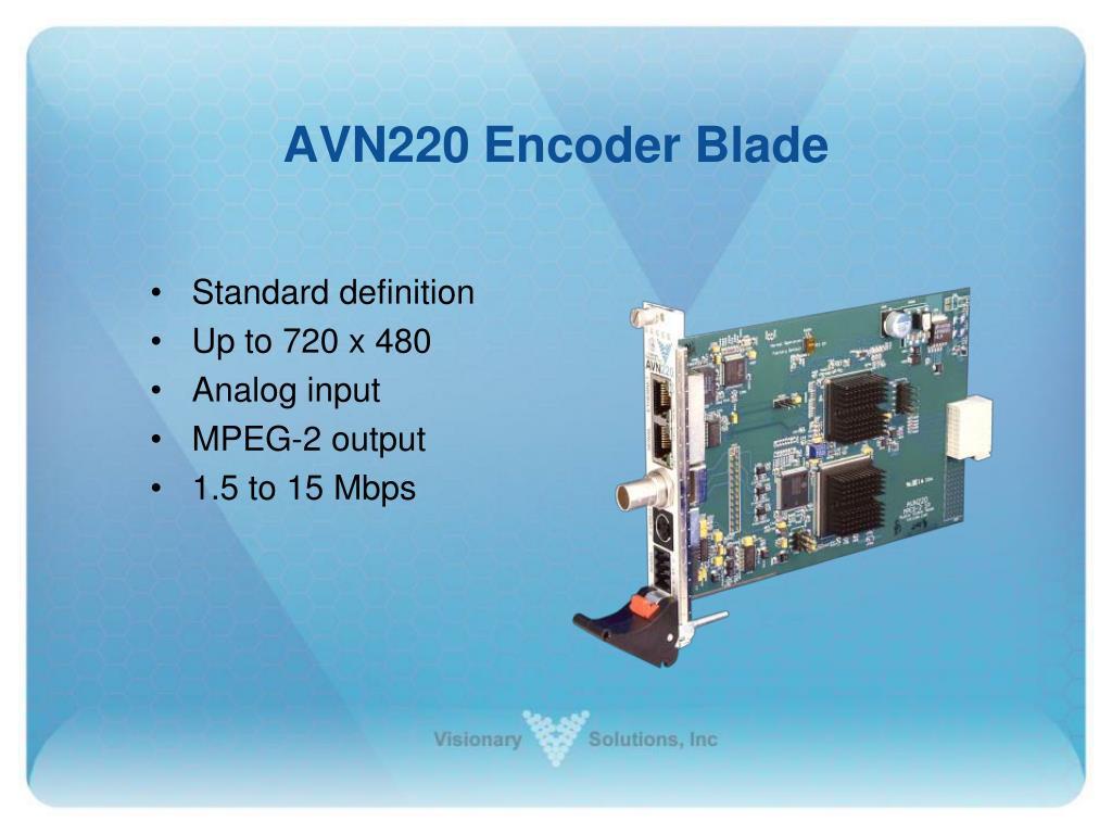 AVN220 Encoder Blade