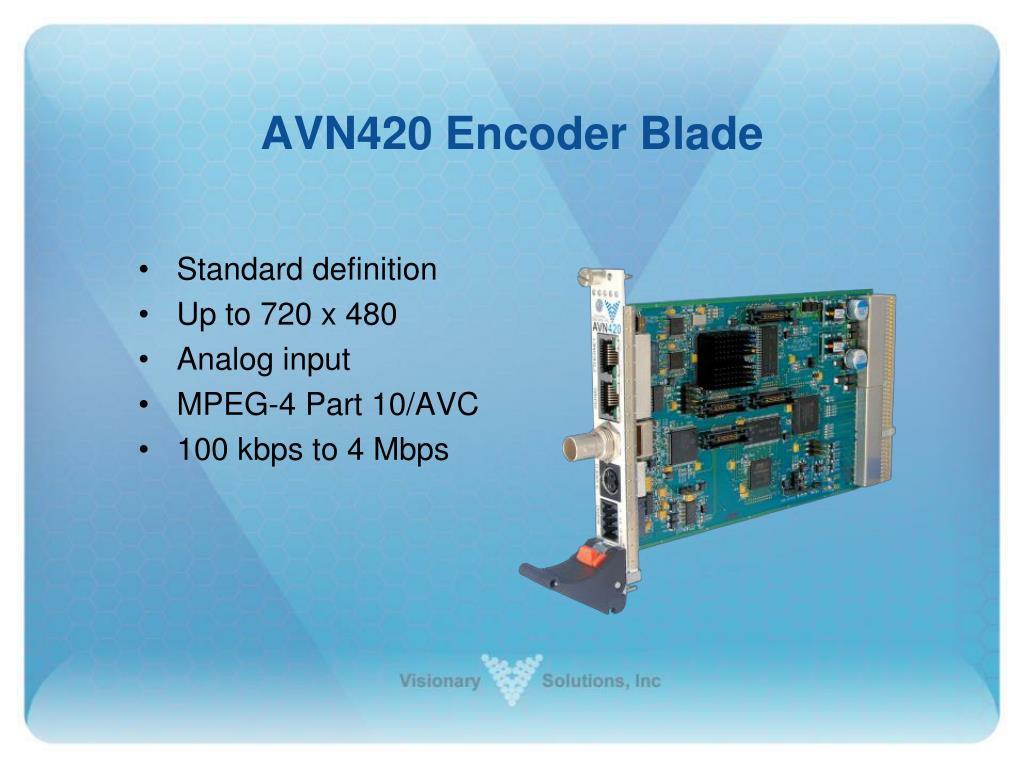 AVN420 Encoder Blade