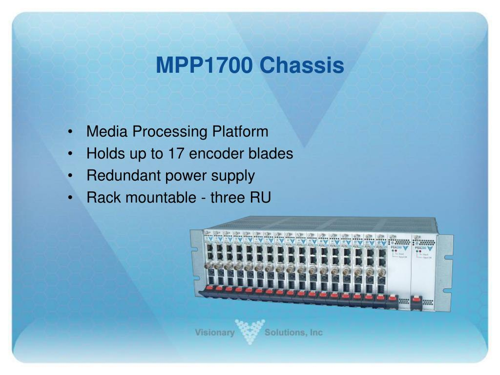 MPP1700 Chassis