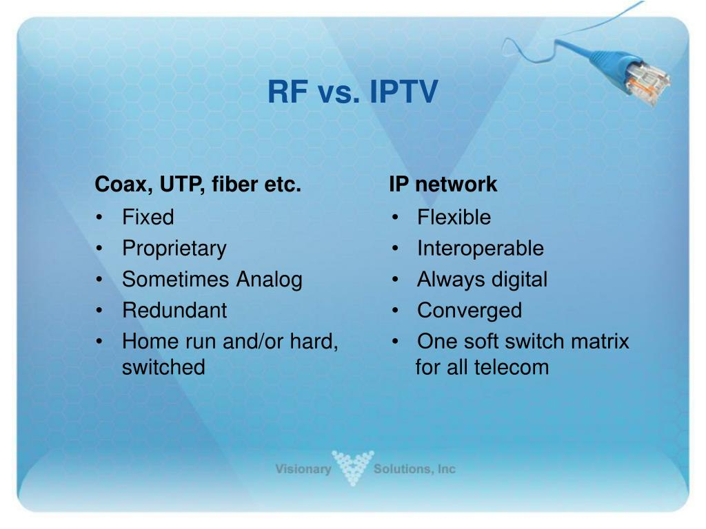 RF vs. IPTV