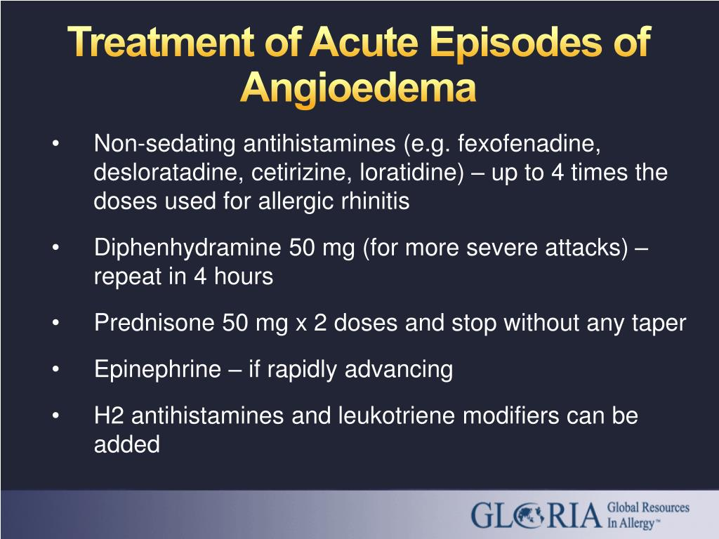 Treatment of Acute Episodes of