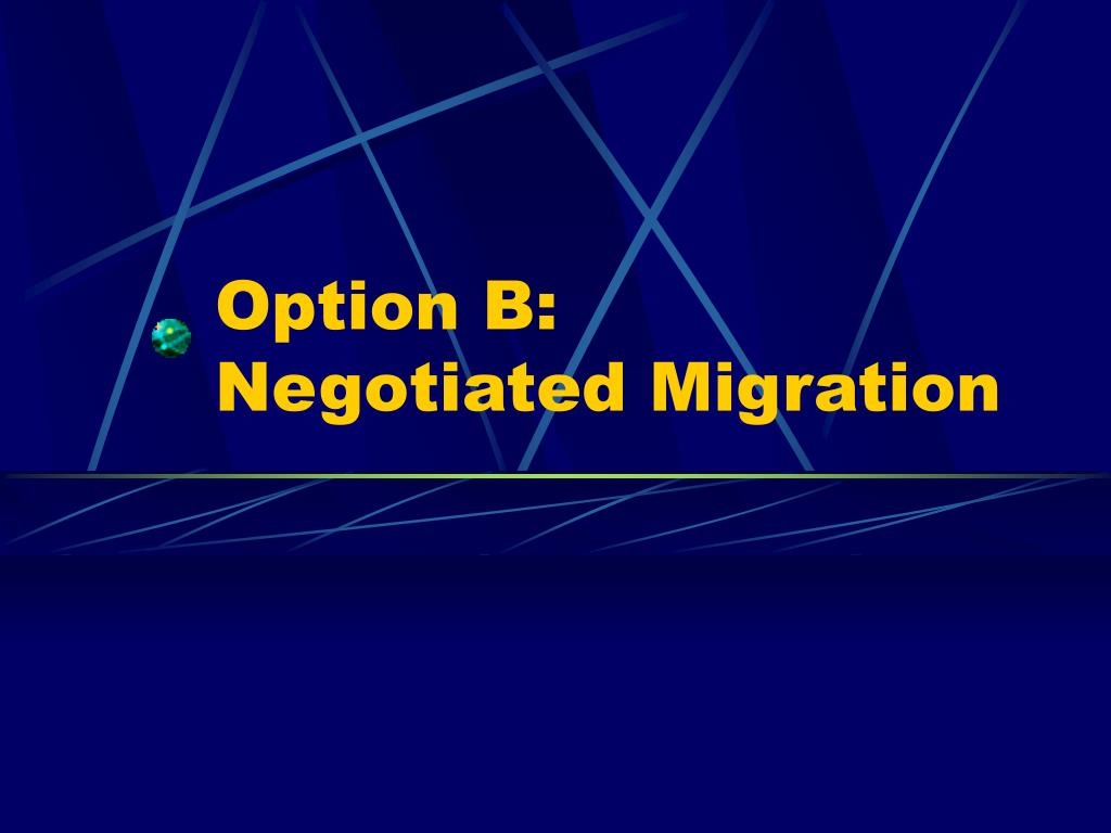 Option B: