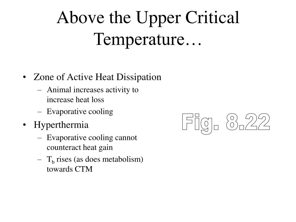 Above the Upper Critical Temperature…