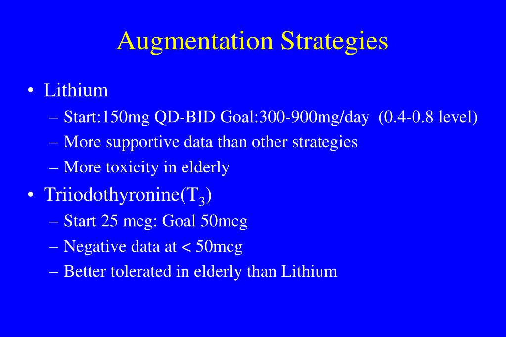 Augmentation Strategies