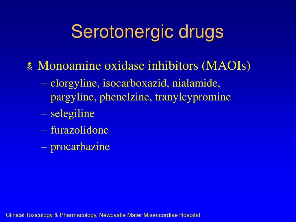 Serotonergic drugs