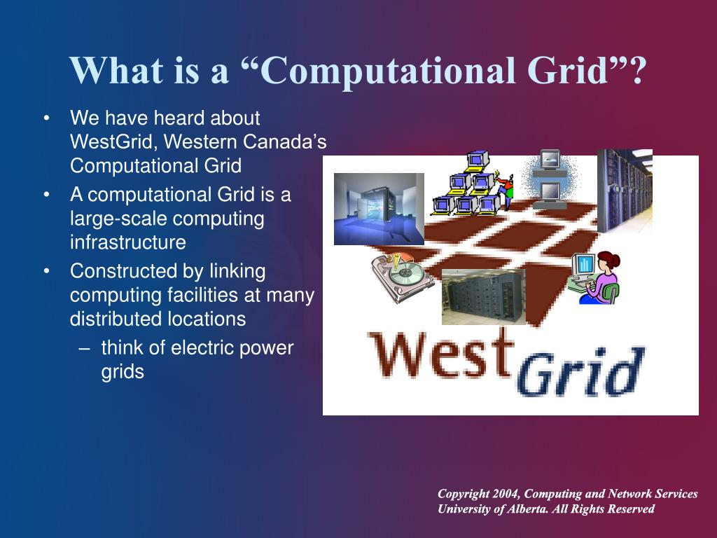 "What is a ""Computational Grid""?"