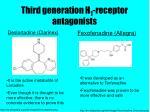 third generation h 1 receptor antagonists32