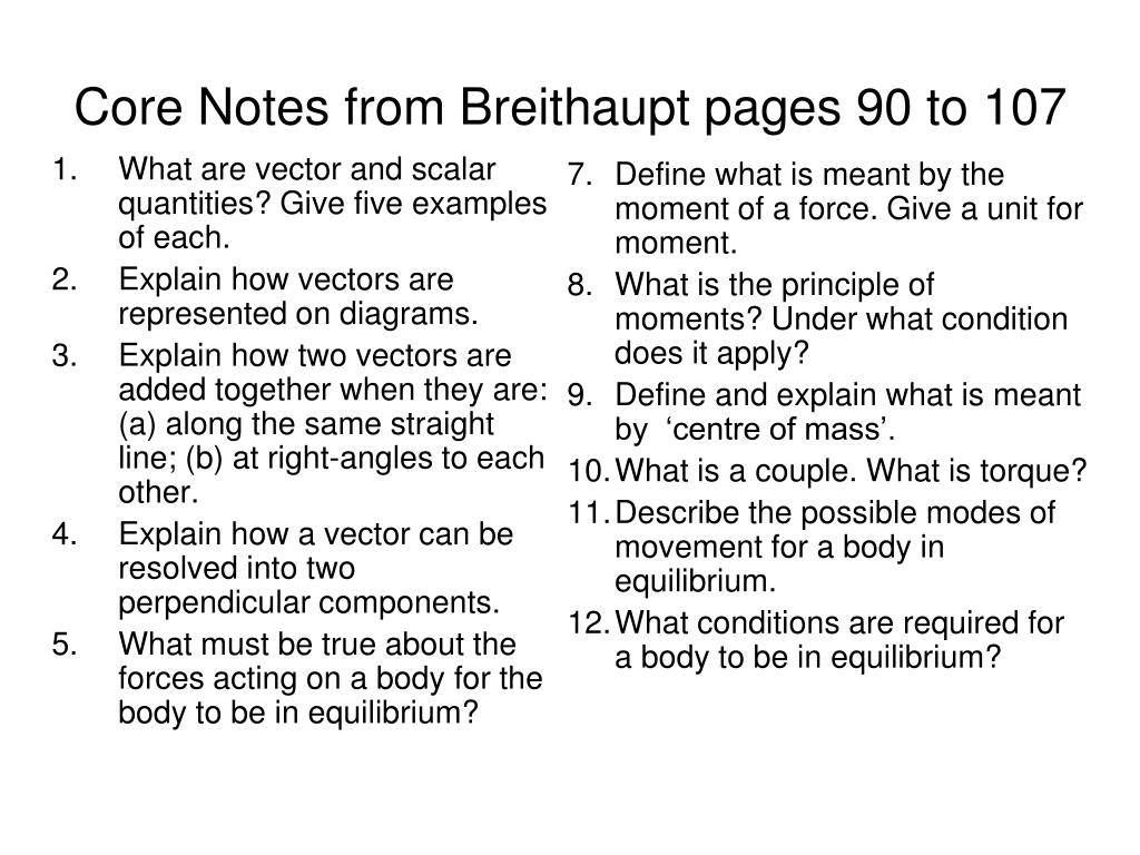 What are vector and scalar quantities? Give five examples of each.