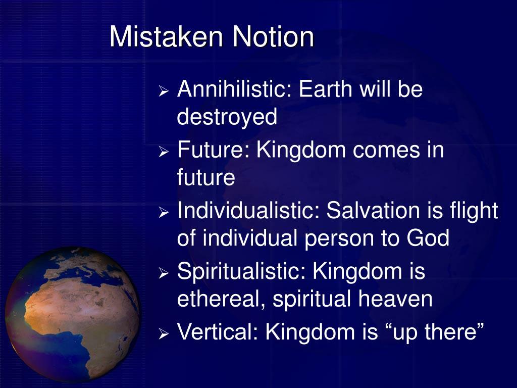 Mistaken Notion