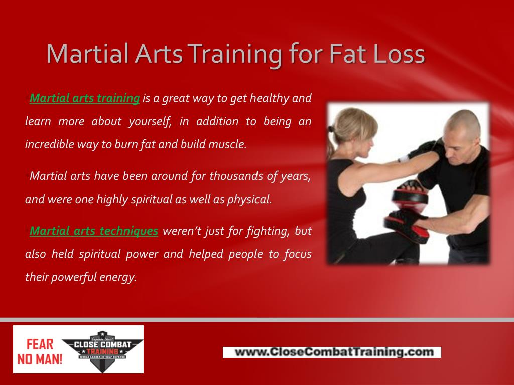 Martial Arts Training for Fat Loss