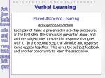 verbal learning13