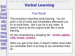 verbal learning16