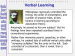 verbal learning6