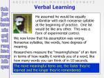verbal learning7