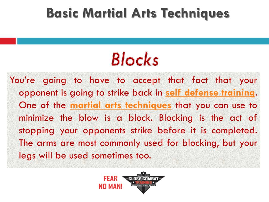Basic Martial Arts Techniques