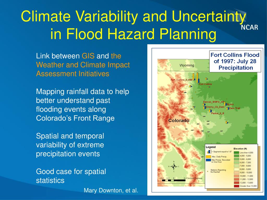 Climate Variability and Uncertainty in Flood Hazard Planning