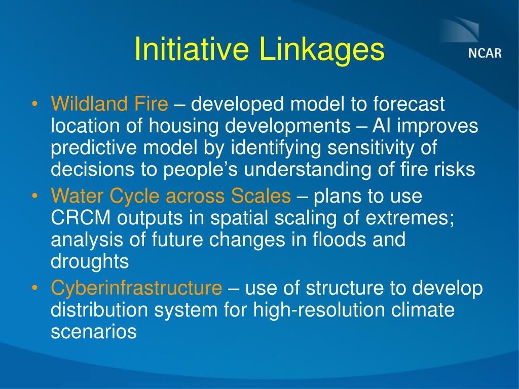 Initiative Linkages