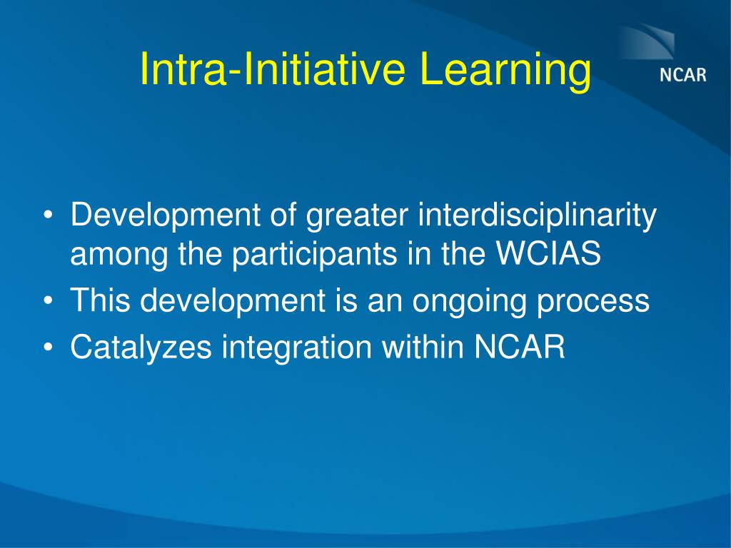 Intra-Initiative Learning