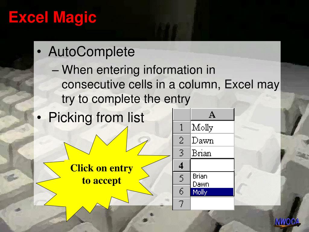 Excel Magic