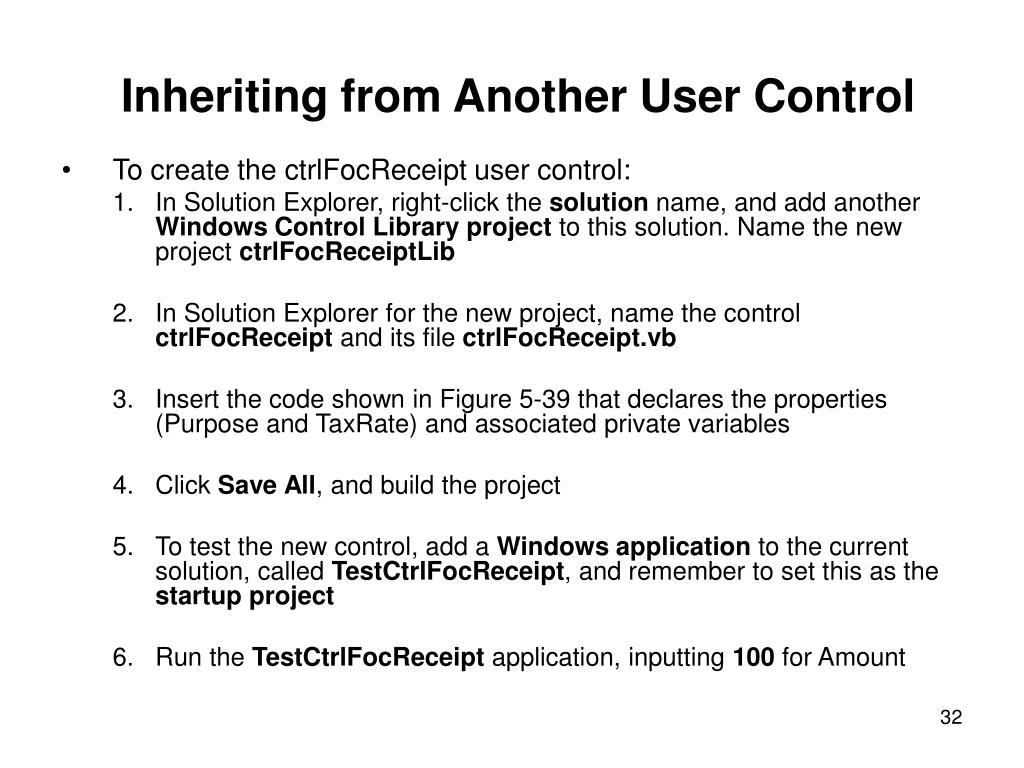 Inheriting from Another User Control