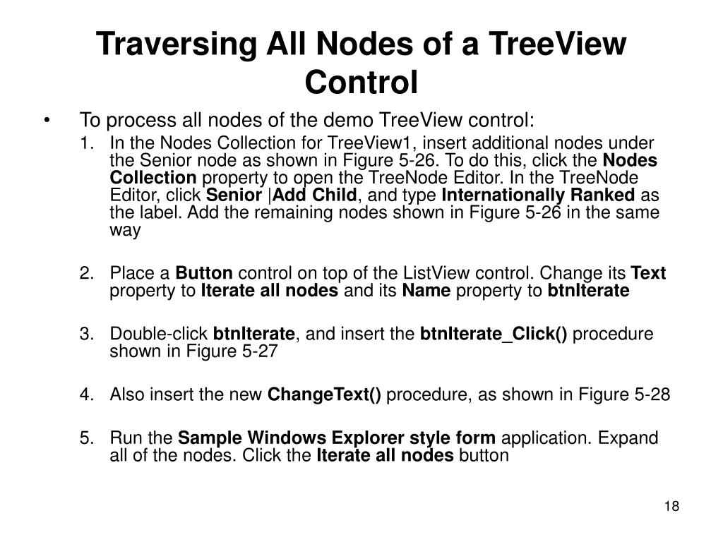 Traversing All Nodes of a TreeView Control