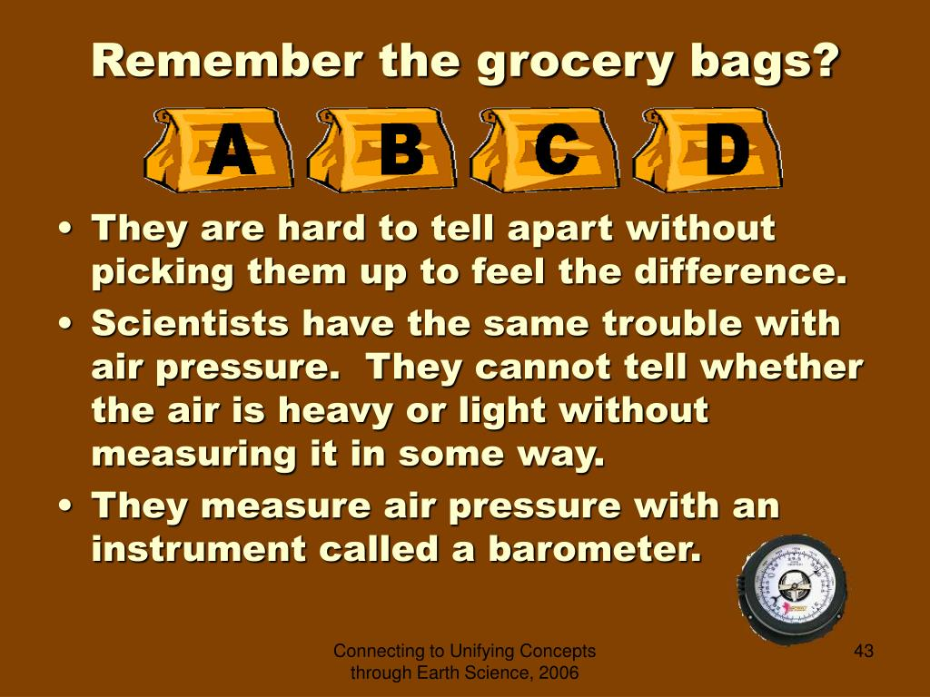 Remember the grocery bags?
