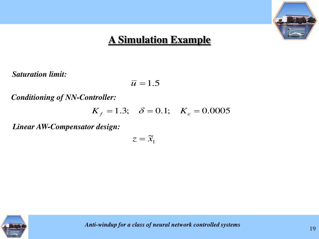 Saturation limit: