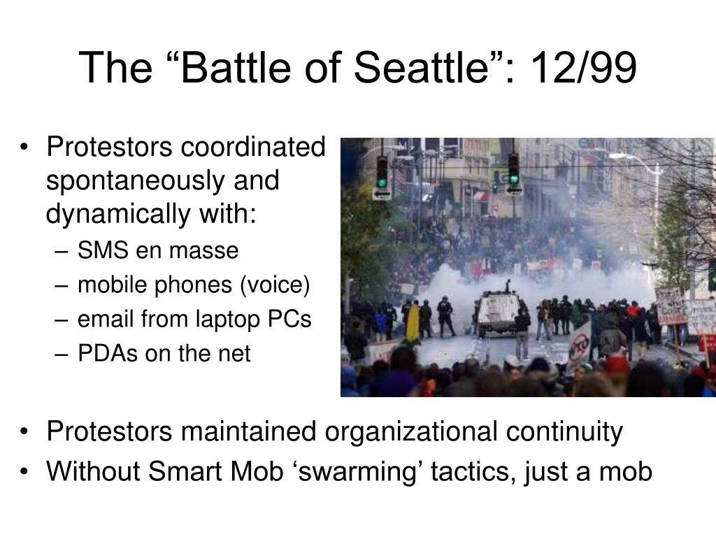 "The ""Battle of Seattle"": 12/99"