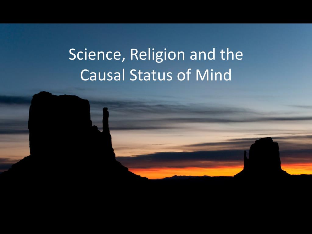 Science, Religion and the